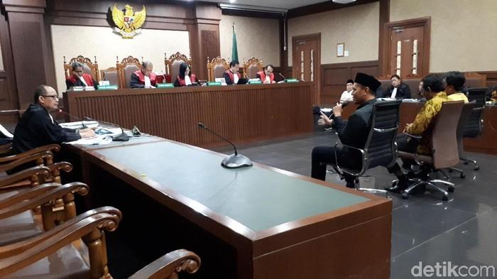Eks Bupati Lampung Tengah, Mustafa /Foto: Faiq Hidayat-detikcom