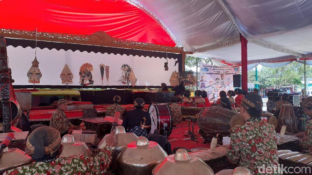 Hari Wayang Sedunia, 24 Dalang Tampilkan Lakon 24 Jam Nonstop di Sragen