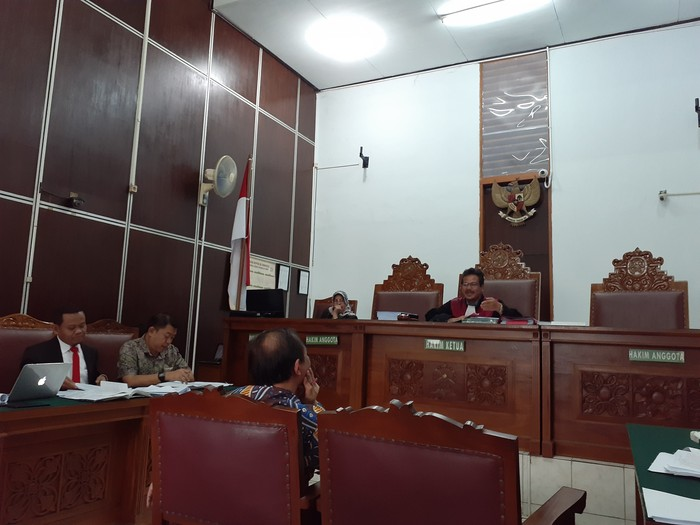 Sidang Praperadilan Imam Nahrawi (Yulida/detikcom)
