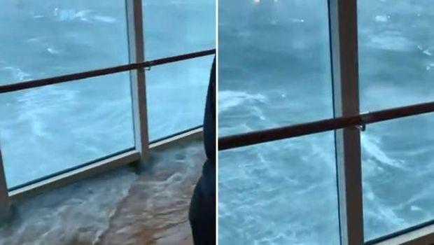 Gaya Traveler Santuy Saat Kapal Terjebak Badai