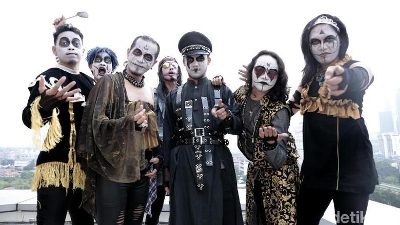 Kuburan Band Foto: Asep Syaifullah/detikcom