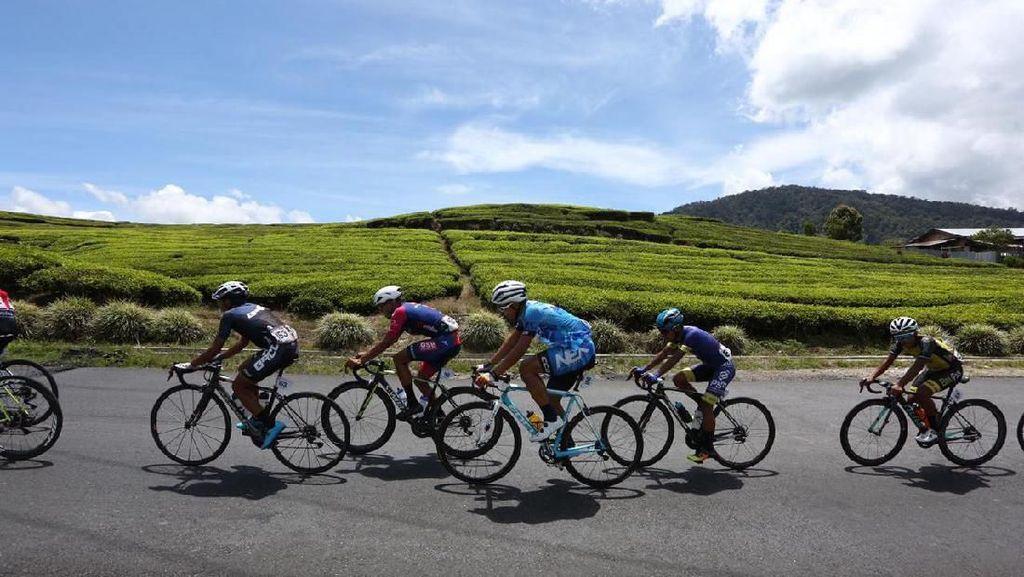 Rustom Lim Menangi Etape 6 Tour de Singkarak