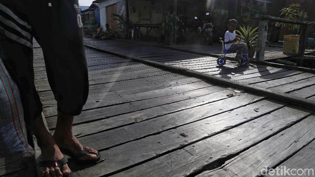 Mengintip Kehidupan Warga di Desa Nelayan Baliwan Sebatik Barat