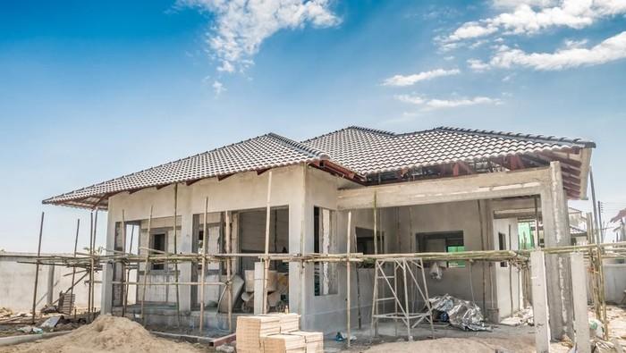 Ilustrasi pembangunan rumah