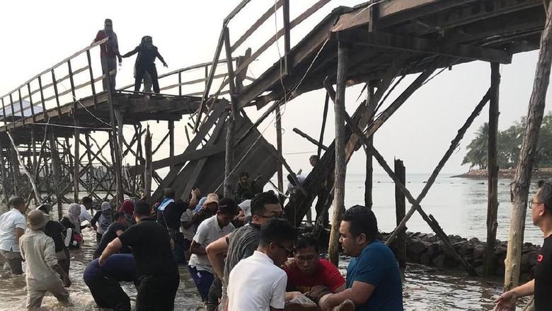 Jembatan Selfie Roboh Lukai Belasan WNA, Ini Penjelasan Montigo Resorts