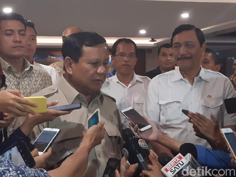 Luhut Beri Saran ke Prabowo, Tentang Apa?