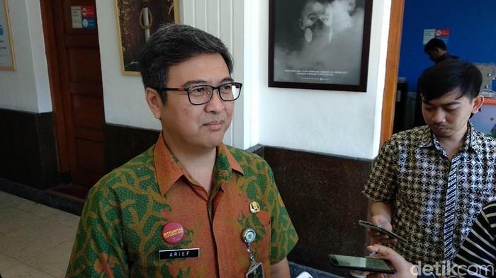 Kepala Disnaker Kota Bandung Arief Syaifudin (Mochamad Solehudin/detikcom)