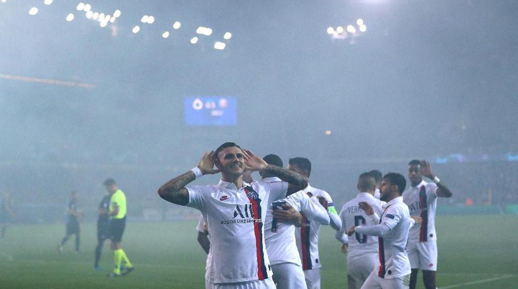 PSG Lolos ke Babak 16 Besar Usai Kalahkan Club Brugge