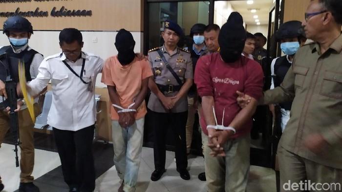 Foto: Pimpinan Kelompok yang Bikin Video Meresahkan Pembebasan Kemerdekaan Aceh Darussalam Ditangkap (Agus-detikcom)