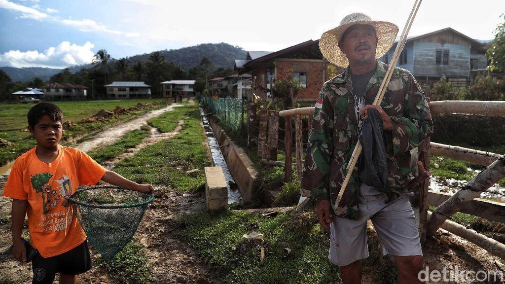 Potret Desa Tersembunyi di Pelosok Kalimantan