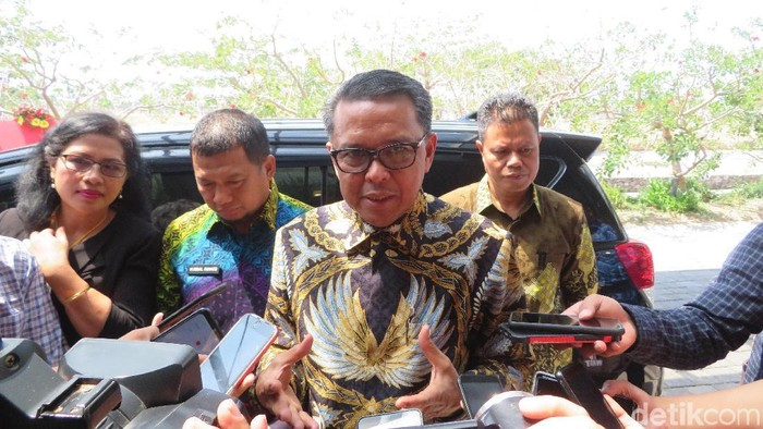 Gubernur Sulawesi Selatan (Sulsel) Nurdin Abdullah /Foto: Noval Dhwinuari Antony-detikcom
