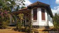 Rumah Kuwu Bintang ini berada di Dusun Pabrik, Desa Sukadana, Kecamatan Sukadana, Kabupaten Ciamis, Jawa Barat. (Dadang Hermansyah/detikcom)