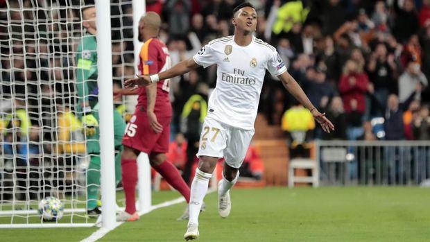 Rodrygo Cetak Dua Rekor di Liga Champions