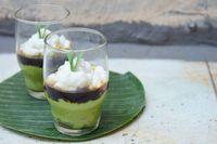 Resep bubur sumsum hijau.