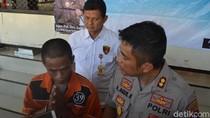 Maling di Surabaya Tertangkap Saat Isi Bensin Motor Curian yang Mogok