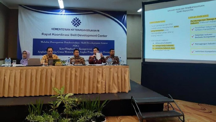 Rapat koordinasi Skills Developmant Center di Yogyakarta, Kamis (7/11/2019). Foto: Dok. Istimewa