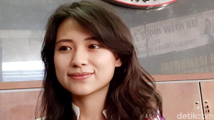 Risa Santosa menjadi rektor termuda di usia 27 tahun (Foto: Muhammad Aminudin)