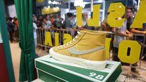 Antrean Membeludak, Perilisan Sneakers Compass Dibatalkan