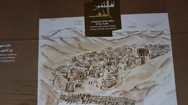 Potret lembah Abu Thalib.