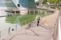 Singapura 'Berdarah-darah' Menjadi Negara Bersih