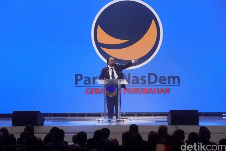 34 DPW Usul Surya Paloh Jadi Calon Tunggal Ketum NasDem