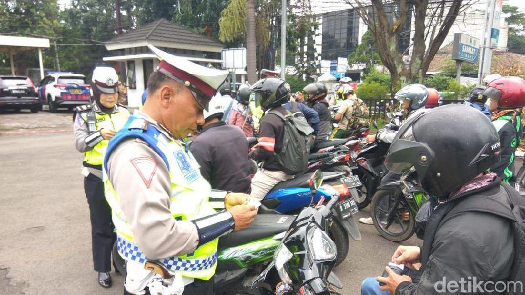 Operasi Zebra di Cimahi, Polisi Jaring 16.287 Pelanggar