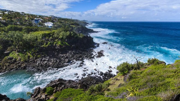 Traveler pun dilarang berenang dan main surfing di luar wilayah laguna Pulau Reunion. Ratusan ekor hiu sudah siap menyerang jika traveler tetap nekat berenang di perairan tersebut. (iStock)