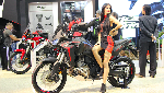 Honda Africa Twin Kini Pakai Mesin 1.100 cc