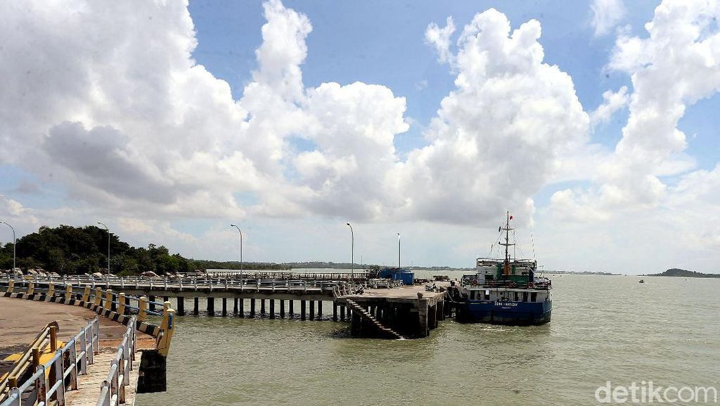 Potret Pelabuhan Roro di Perbatasan Indonesia-Singapura