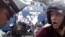 Tak Terima Ditilang, Pengendara Motor di Sumut Marah-marah ke Polisi