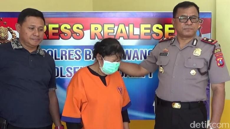 Rampok Tetangga, Janda Dua anak Ditangkap di Kamar Korban