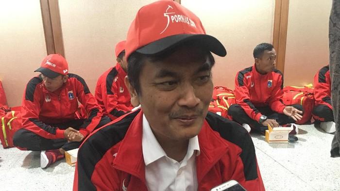 Kepala Dinas Pemuda dan Olahraga Achmad Firdaus (Arief/detikcom)