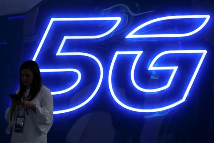 Jaringan 5G. Foto: Reuters
