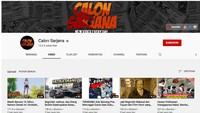 Heboh Channel YouTube Calon Sarjana Tiba-tiba Menghilang