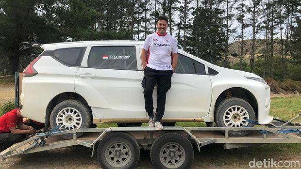 Xpander Balap Rifat Sungkar Beres Diuji Coba