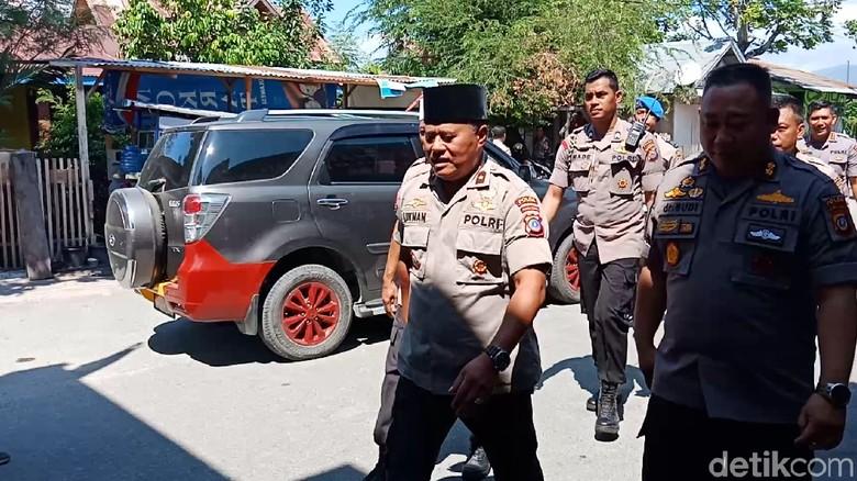 Kapolda Sulteng Terbang ke Donggala Selidiki Penyebab 2 Polisi Tertembak