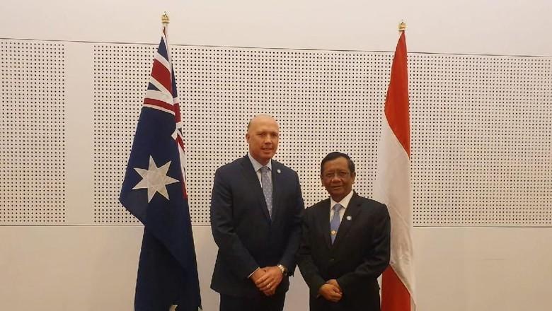 Mahfud Md Bertemu Mendagri Australia Bahas Kerja Sama Cegah Terorisme