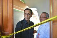 Gaya Nadiem Makarim saat kunjungan kerja di sekolah di Pasuruan, Jawa Timur