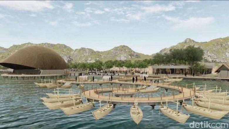 Rencana revitalisasi Situ Bagendit di Kabupaten Garut.