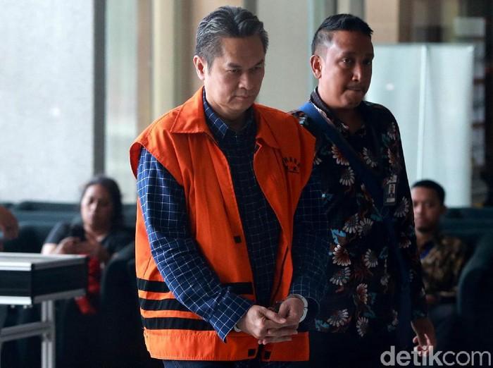 Eks Direktur Keuangan PT Angkasa Pura II (Persero) Andra Y Agussalam  (Ari Saputra/detikcom)