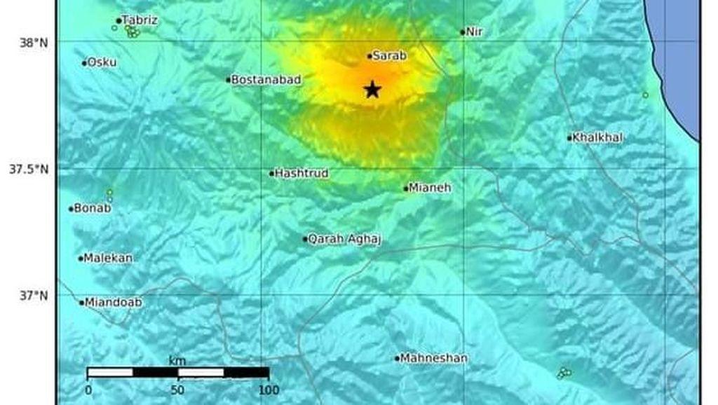 5 Orang Tewas dan 120 Luka-luka Akibat Gempa M 5,9 di Iran