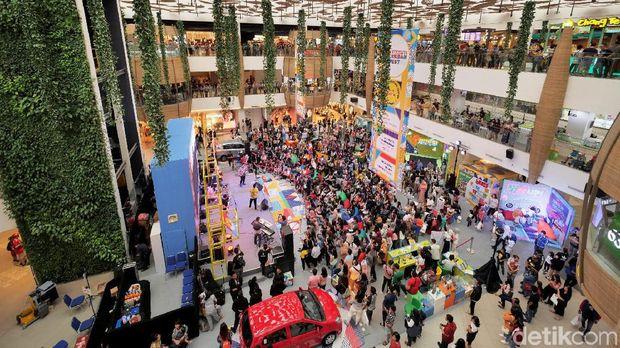 Suasana di Daihatsu Urban Fest Bandung Oktober lalu