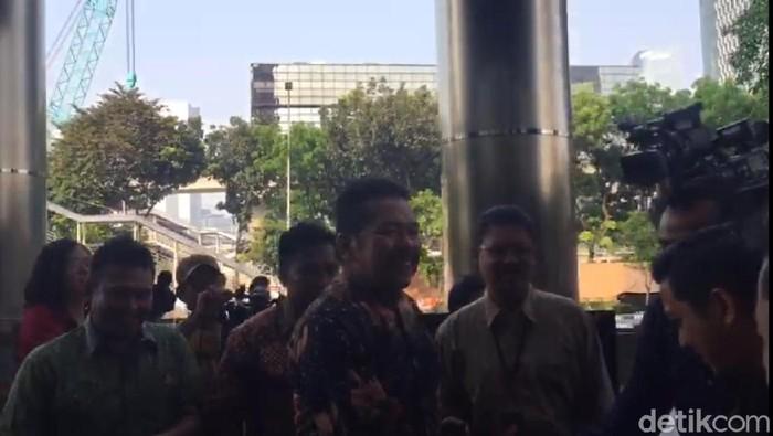 Foto: Jaksa Agung ST Burhanuddin Kunjungi KPK (Ibnu/detikcom)
