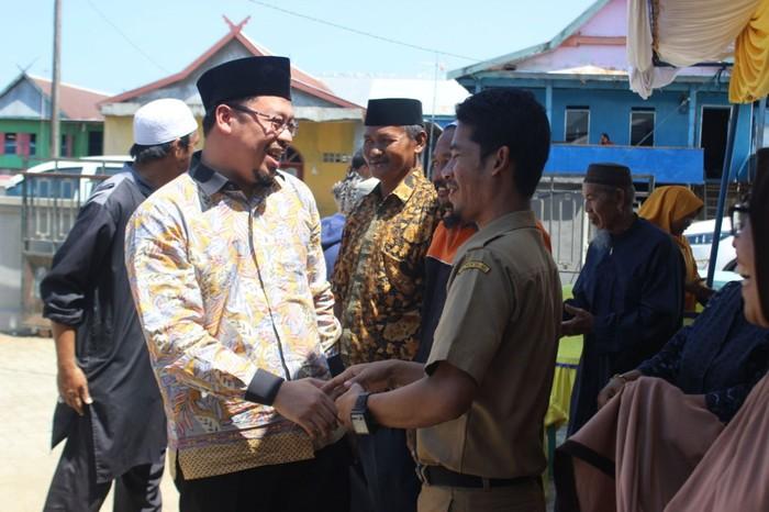 Foto:  Wakil Ketua DPRD Sulsel Muzayyin Arif bertemu warga (Dok. Istimewa)