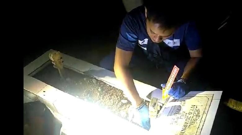 Imbau Warga Tenang, Polisi Buru Pembongkar Puluhan Makam di Tasik