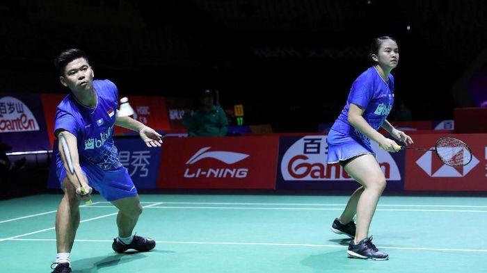 Praveen/Melati gagal ke semifinal Fuzhou China Open. (Foto: PP PBSI)