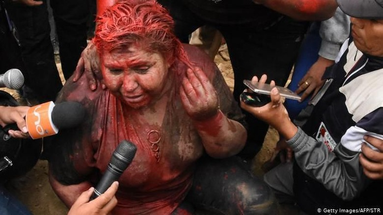 Presiden Bolivia Kutuk Demonstran yang Seret dan Cukur Paksa Wali Kota Vinto