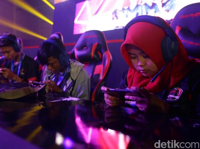 Grand Final Southeast Asia Cyber Arena (SEACA) oleh UniPin resmi dibuka, Jumat (8/11/2019). Ada 66 tim yang akan bertanding di Kartika Expo, Balai Kartini, Jakarta.