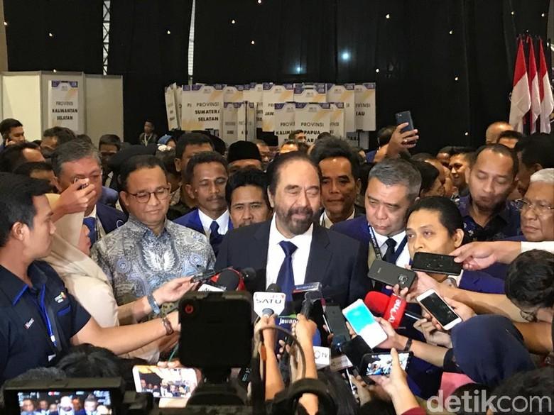 Surya Paloh Bicara Pihak yang Curigai NasDem usai Rangkul PKS