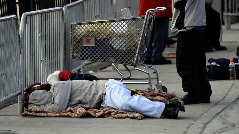 Las Vegas Bikin Larangan Tidur di Jalanan, Publik Geram